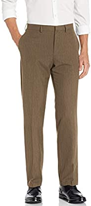 Dockers Mens Straight Fit Flat Front Dress Trousers Dress Pants