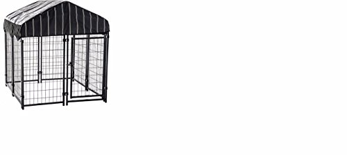 Lucky Dog Large Dog Pet Kennel Metal Crate Cage Enclosure...