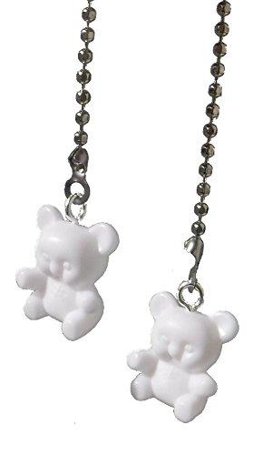 set-of-two-mini-teddy-bear-nursery-ceiling-fan-pulls-pastel-colors-1-white