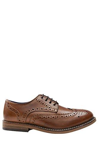 next Niños Zapatos Oxford Bronceado