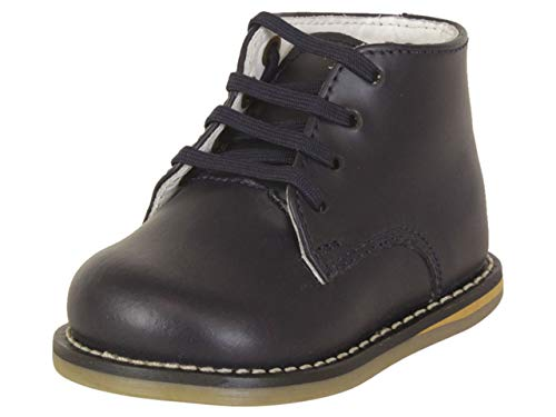 JOSMO Infant Boy's Logan Navy Oxfords Shoes Sz: 2