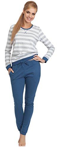 Cornette Pijamas Dos Piezas para Mujer Molly Jeans
