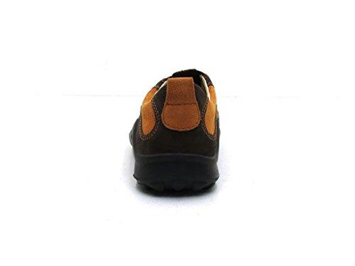 Legero - Zapatillas de nordic walking de cuero para mujer - 537-57 Orange