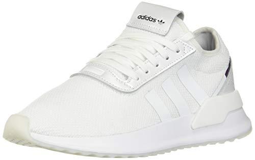 adidas Originals Women's U_Path X Sneaker, White/Purple Beauty/Black, 8 M US