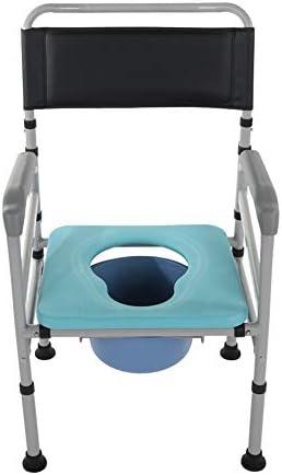 トイレ、多機能便器椅子モバイル便座椅子セット折りたたみ式高さ調節可能