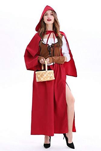 prbll Trajes de Halloween de Las Mujeres, Disfraces de Capa de ...