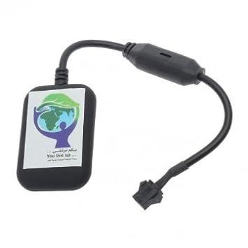 Man Friday K10 Mini Autos Motos GSM GPRS GPS Lucha contra el ladrón vehículo Tracker: Amazon.es: Coche y moto