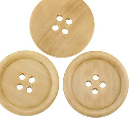 Handgemaakte lievelingsladen 10 edele houten knopen 30 mm