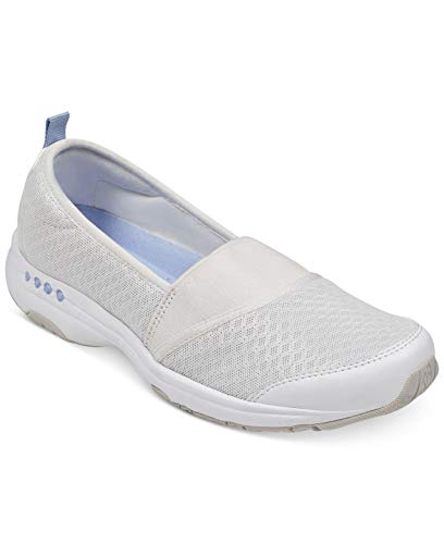 Easy Spirit Womens Twist2 Fabric Low Top Slip On Fashion, Ivory, Size ()