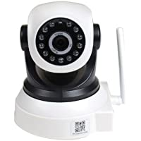 VideoSecu Baby Monitor IP Wireless Video Day Night Vision Security Camera with Pan Tilt Wi-Fi for iPhone, iPad, Android Phone or PC Remote View BKW