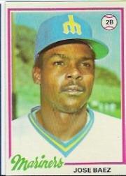 Amazoncom 1978 Topps Baseball Rookie Card 311 Jose Baez