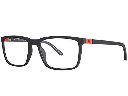 OGA MOREL Eyeglasses France cold insert 8206 8206O (matte black, one color)