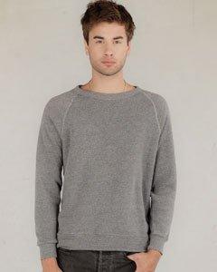 Champ Fleece Sweatshirt - Alternative mens Champ Eco-Fleece Sweatshirt X-Small Eco Grey