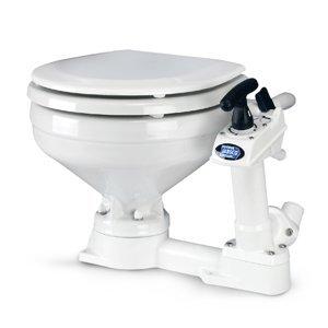 Jabsco Flojet Twist 'n' Lock Manual Toilet, (Jabsco Manual Toilet)