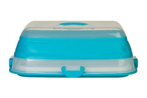Prepworks von Progressive International Blindkopie - 8 Kuchen-Transportbox, zusammenklappbar, 9 x 13 cm von Progressive