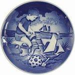 1991 Bing & Grondahl Children's Day Plate --
