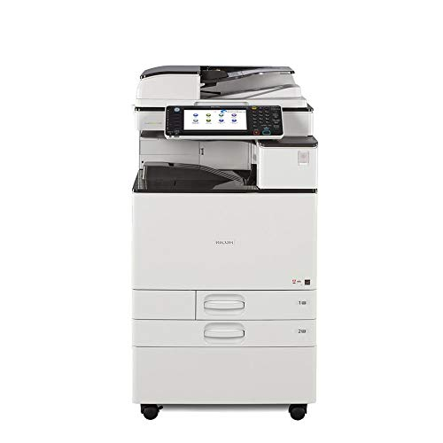(Refurbished Ricoh Aficio C2503 Color Multifunction Copier - A3, 25 ppm, Copy, Print, Scan, 2 Trays with Stand (Certified Refurbished))
