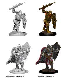 Dungeons & Dragons Nolzur`s Marvelous Unpainted Miniatures: Death Knight & Helmed - Knight Dragons And Dungeons
