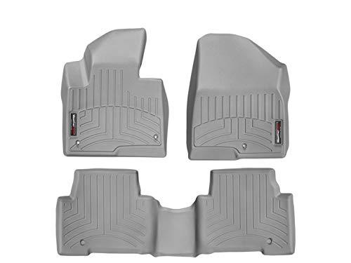 - WeatherTech (46440-1-2 FloorLiner, Front/Rear, Gray