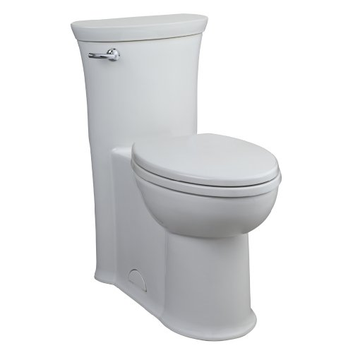 American Standard 2786.016.020 Tropic Right Height Elongated One Piece Toilet, White by American Standard