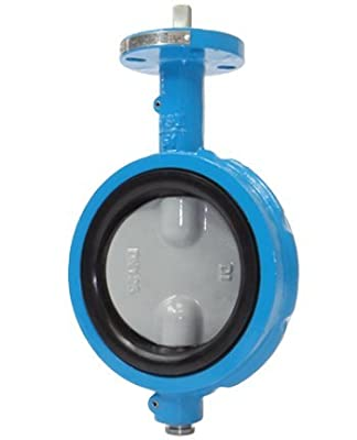 """4"""" Max-Seal Butterfly Valve Wafer Ductile Iron Body 316SS Disc EPDM Seat Lever from Max-Seal"""