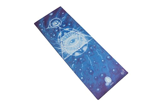Spiritual Revolution Eco-Friendly Yoga Mat: Combo Mat and Towel That Increases Grip As You Sweat. No Slip, PVC Free, and Machine Washable