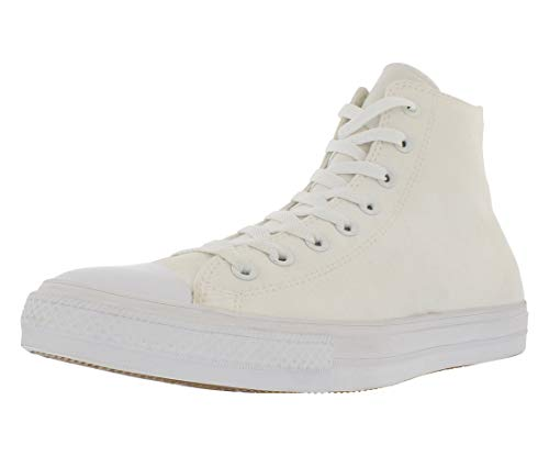 Converse Chuck Taylor II Hi Unisex Casual Sneakers, Size 7.5, Color White ()