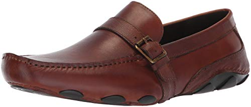 Kenneth Cole REACTION Men's Toast Driver C Driving Style Loafer, tan, 10 M US