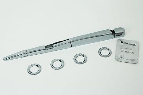 Accesorios para Honda CR-V a partir de 2012 cromo Cover Set HECK Set Limpiaparabrisas Trasero paneles Sensores Marco paneles protectora Tuning: Amazon.es: ...