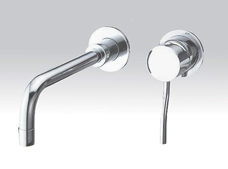 Aqua Brass Wallmount Bathroom Faucet 1029tt Tiger Bronze - Touch ...