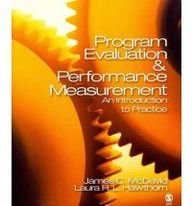 BUNDLE: McDavid: Program Evaluation and Performance Measurement + Fitzpatrick: Evaluation in Action