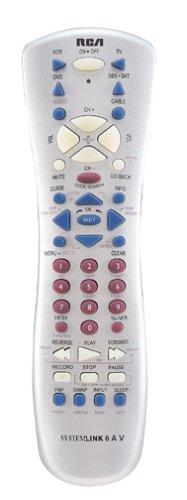 RCA RCU600WMS Universal 6 Device Remote Control