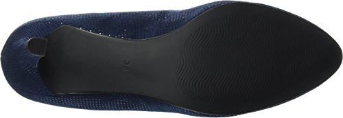 Marco Tozzi 22432, Zapatos de Tacón para Mujer Azul (Navy Metallic 824)