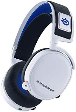 SteelSeries Arctis 7P Wireless – Lossless 2.4 GHz Wireless Gaming Headset – for PlayStation 5 and PlayStation 4 – White – PlayStation 5