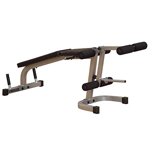 Powerline by Body-Solid Leg Extension and Curl Machine (PLCE165X)