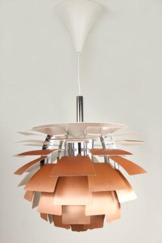 Artichoke Copper Pendant Light - 6