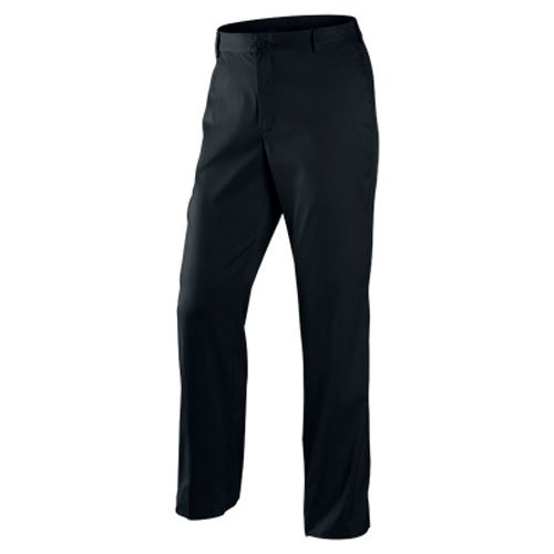 Nike Golf Men'sFlat Front Tech Pant BLACK/BLACK 32-32