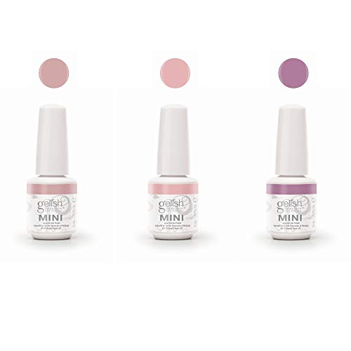 Gelish Mini The Color of Petals Spring Collection 3 Piece Gel Nail Polish Kit