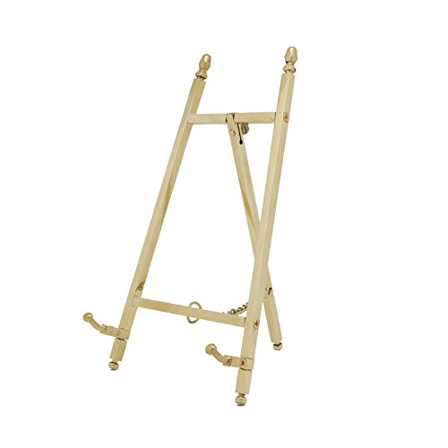 Malleable Table Top Easel,Brass,6 inch,150mm (Easel Gold Frames)