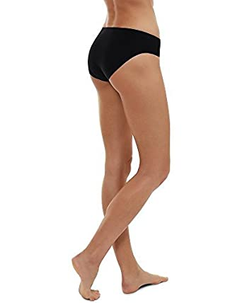 e01d4a2032 LAPASA Womens Seamless Hipster Panties Invisible No Show Bikini Underwear  Full Back Coverage Low Rise Briefs