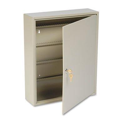 Uni-Tag Key Cabinet, 160-Key, Steel, Sand, 16 1/2 x 4 7/8 x 20 1/8, Sold as 1 Each