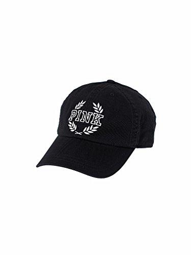 Victoria's Secret PINK Women's Baseball Hat Color Pure Black