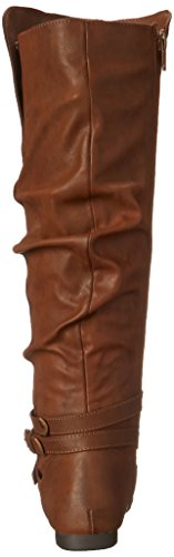 Slouch Women's Cognac Boot Fergalicious Lyla FaqwcvOz
