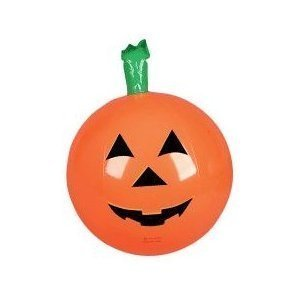 6 Inflatable HALLOWEEN PUMPKINS ~ 16'' Jack O Lanterns PUMKIN Inflates ~ Fun Party Decor Favor ~ -