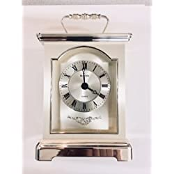 BULOVA QUARTZ, CARRIAGE CLOCK, MADE IN GERMANY