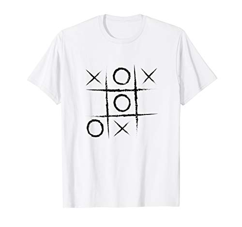 Noughts And Crosses Halloween Shirt - Tic Tac Toe Game]()
