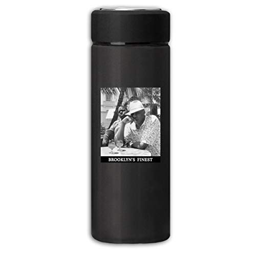 Vacuum Cup Insulated Stainless Jay-Z & Biggie Men's Brooklyn's Finest Water Cup Sports Coffee Travel Mug Thermos Cup 350ml