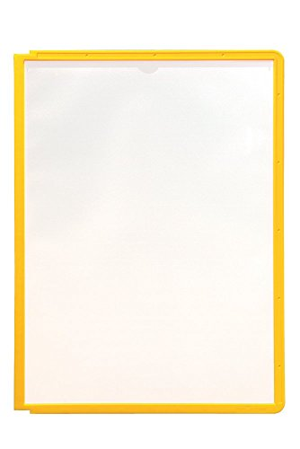 Price comparison product image DURABLE SHERPA Replacement Panels, Yellow, 5-Pack (566604)