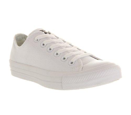 Da Bianco white – Adulto As Scarpa Ox Canvas Nvy Mono Can Tennis Converse Unisex SXvqH