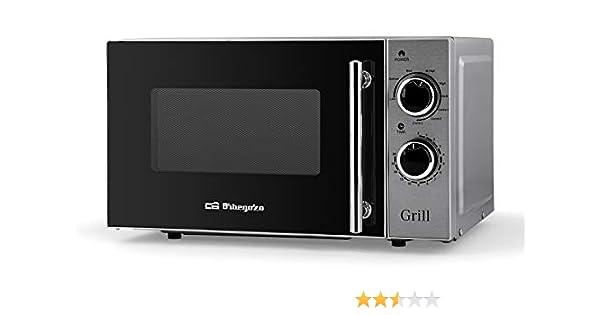 Orbegozo MIG 2550 - Microondas con grill, 20 litros de capacidad ...